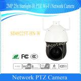 Cámara de red del IR PTZ Wi-Fi de la luz de las estrellas de Dahua 2MP 25X (SD49225T-HN-W)