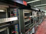 Panel de micro-ordenador 3 pisos eléctrico cocción de pan Hornos 9 bandejas automáticas