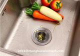 Setaccio del dispersore di cucina dell'acciaio inossidabile, setaccio dello scolo della Nessun-Ruggine & pacchetto di valore del coperchio del filtrante dello scolo della maglia del collettore dell'alimento