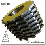 La madera de pélets de Metal de hoja de corte de rodadura de la máquina