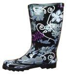 Ladies Fashion Rubber Rain Boot