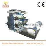 Presse flexible Presse en plastique / papier / tissé Deux machines d'impression couleur