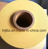 Película amarela da ensilagem da alta qualidade LLDPE para a bala redonda