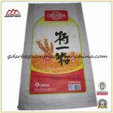 De Plastic pp Geweven Zak van uitstekende kwaliteit met Handvat voor Rijst