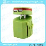 Adattatore elettrico di corsa del caricatore del USB della multi spina universale (ZYF9010)