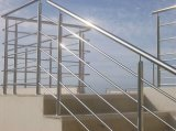 De het moderne Traliewerk van de Staaf van het Roestvrij staal/Balustrade van de Staaf van het Terras