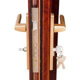Двери качества Feelingtop превосходным закаленные двойником застекляя алюминиевые нутряные французские (FT-D70)