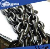 DIN 764/ DIN 766 черной краской сварных стальных звено цепи