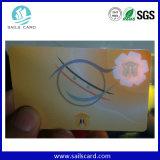 Marca de água, folha de prova do holograma, cartão da identificação da impressão da Anti-Falsificação do logotipo do holograma 3D