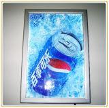 El aluminio Popular efecto dinámico Caja de luz LED para interiores Publicidad