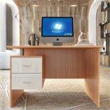 Дешевые деревянные настольный компьютер письменный стол с 2 выдвижными ящиками