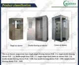 Acquazzone di aria dell'angolo della stanza pulita dell'acciaio inossidabile di Flb-1d