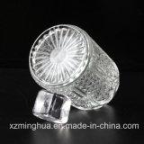 Frascos de vidro do difusor redondo com cortiça