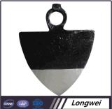 Robinet de chemin de fer de la marque Luannan B. L'agriculture de l'Acier Outil à main H313 Hoe