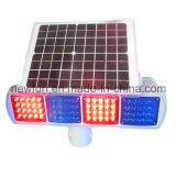 Strobe LED solaire clignotant signal d'avertissement de circulation pour la sécurité routière