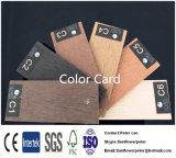 Decking compuesto plástico de madera sólido de WPC