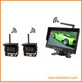 Sistema sin hilos del Rearview de la seguridad del coche de 2 canales con la cámara y el monitor