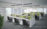 Estação de trabalho de partição Open Office de venda quente com perna de metal (HF-LSK121)
