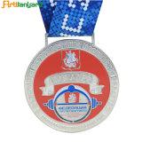 Medaglia in lega di zinco personalizzata del metallo di sport