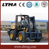 10 Tonnen-raues Gelände-Diesel-Gabelstapler