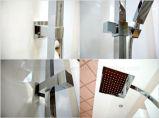 Insieme quadrato standard dell'acquazzone di pioggia di Colunm dell'acquazzone della stanza da bagno dell'Australia