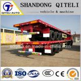 3 essieu 40FT Container Transport 40tonne semi-remorque à plat