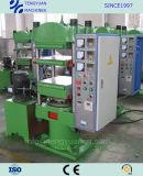 Hohes leistungsfähiges heißes Vorlagenglas-vulkanisierenpresse für das Produzieren der Gummiprodukte