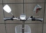 Bicicletas eléctricas de dobragem de luz com a cesta e farol de LED (FB-006)