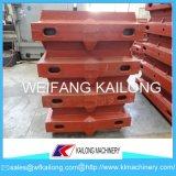 Boccetta di modellatura dell'alto di produzione del ferro di /Grey di ferro pezzo duttile della fonderia