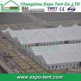 Большой пролет выставки палатку в рамке для выездных мероприятий