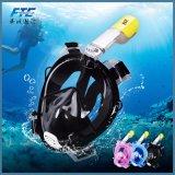 De volledige Scuba-uitrusting van het Gezicht snorkelt het Duiken het Snorkelende Masker van de AntiMist van het Masker