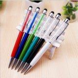 Popular multi-color Swarovski lápiz óptico lápiz para pantalla táctil