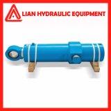 Tipo regulado cilindro hidráulico com o êmbolo de aço forjado Rod
