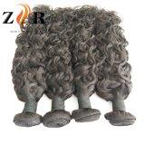 Extensions indiennes normales en gros d'onde de cheveux humains de Remy