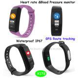 De kleurrijke Slimme Armband Bluetooth van het Scherm met Waterdichte IP67 K17s