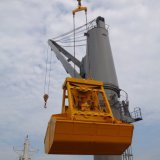25t Radio Remote gestiscono la benna della gru a benna per l'imbarcazione con il certificato della BV dell'ABS
