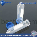 Soft di plastica Test Tube con Rubber Tube Cap, Injection Tube