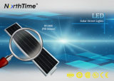 Hohe Lumen 6500-7000K kühlen weiße industrielle Beleuchtung-Solarstraßenlaternen ab