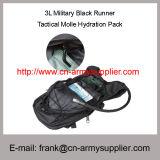 Rugzak van het Pak van de Hydratie Molle van de Agent van het leger 3L de Militaire Zwarte Tactische