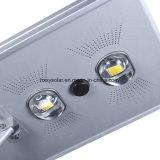 60W lámpara de calle ligera solar al aire libre de los productos LED con el sensor de movimiento