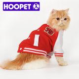 T-shirt sport rouge pour chat, vêtements chien punk