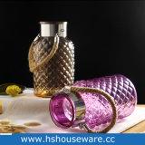 De gekleurde Vaas van het Glas met Handvat