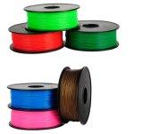 Fibre de carbone + filament faits sur commande d'ABS