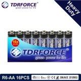 1.5V China Fabrik-Zink-Kohlenstoff-Batterie-Großhandelspreis (R03-AAA 30PCS)