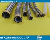 Aço inoxidável trançado flexível de borracha de metal direto de fábrica