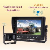 IP69k Waterproof Car Reversing Camera System 2.4GHz Câmera sem fio digital