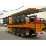 12.5m 3개의 차축 수송 콘테이너 트럭 트레일러