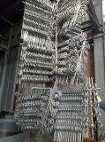Ferro saldato in rete fissa e portello nei Railheads forgiati del punto del germoglio