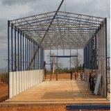 新しいデザインプレハブの大きいスパンライト鉄骨構造の研修会