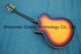 F Les trous L5 plein de guitare jazz de corps creux dans la solarisation (TJ-279)